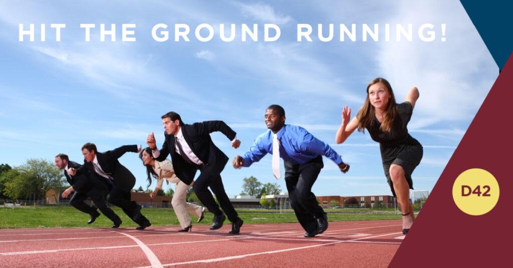 Hit The Ground Running | Leadership Training