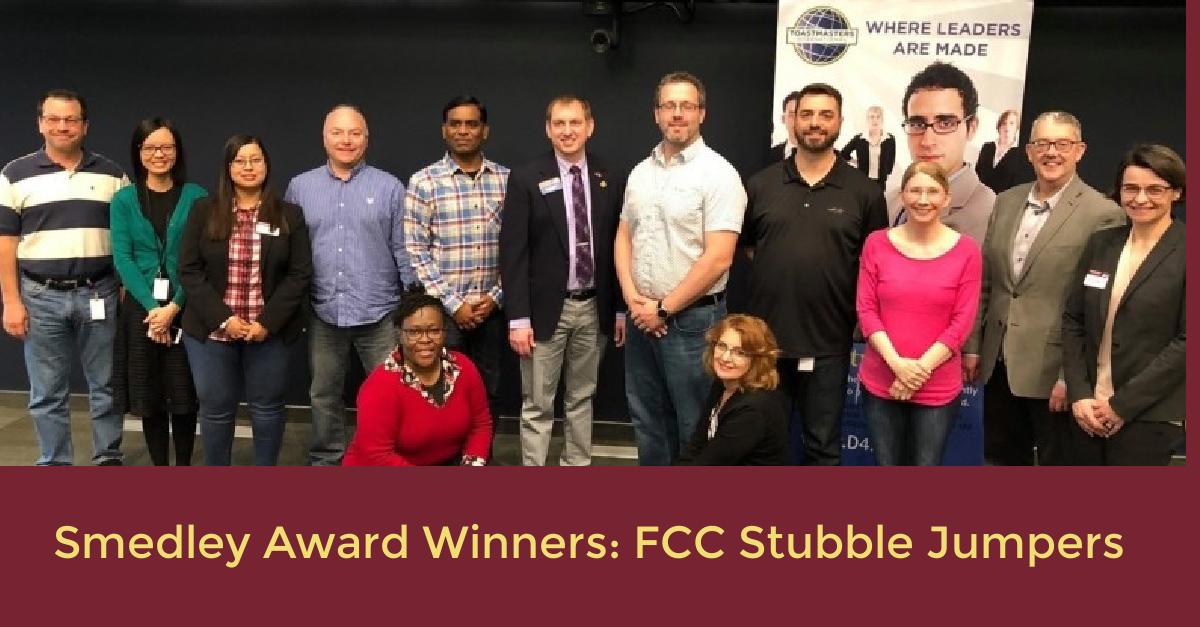 Smedley Award Winners: FCC Stubble Jumpers