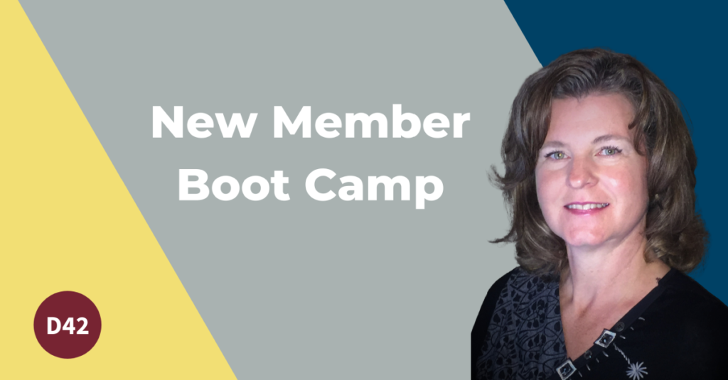 New Member Boot Camp