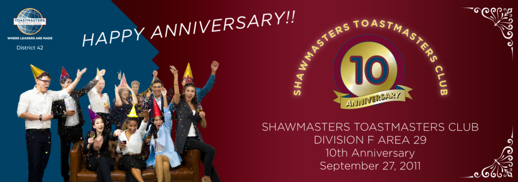 SHAWMASTERS TOASTMASTERS CLUB