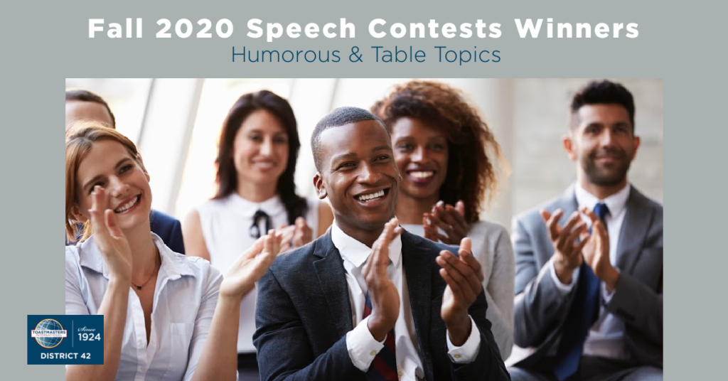 D42 Fall Speech Contests Winners 2020