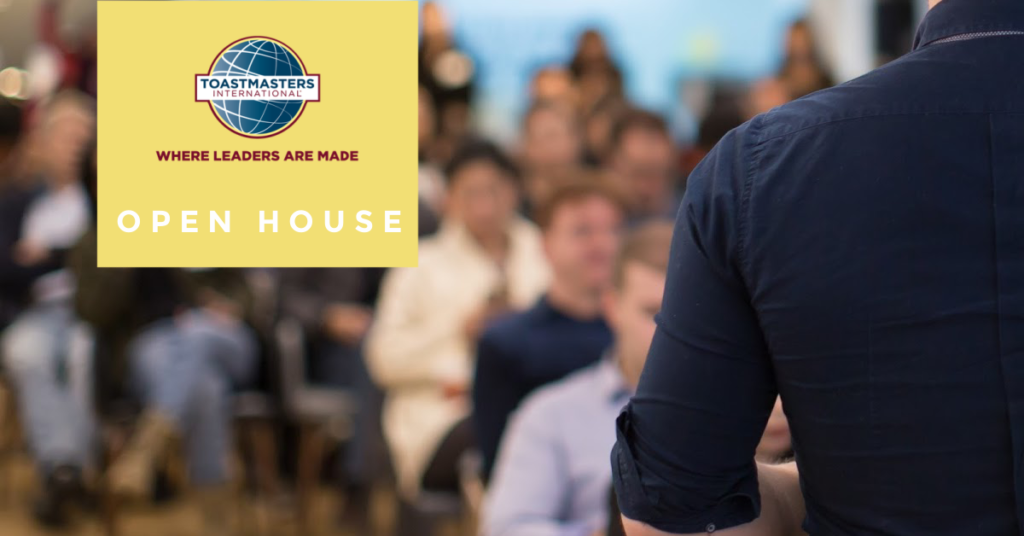 Attend a Toastmasters Open House