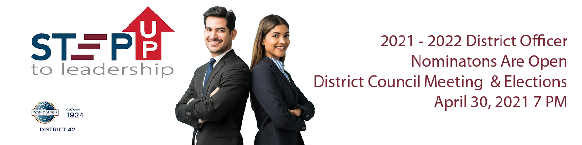 Clickable Link to Information on D42 Officer Nominations