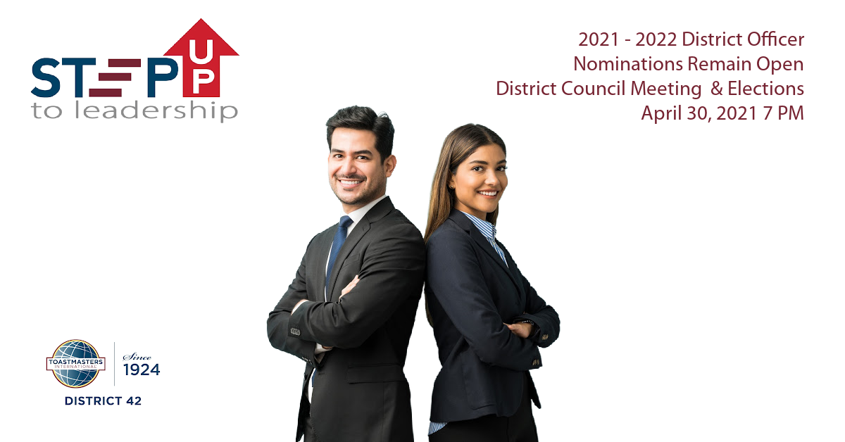 District 42 Call for Nominations